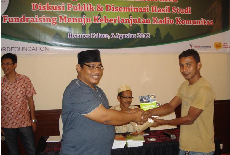 Fundraising Menuju Keberlanjutan Radio Komunitas Aceh