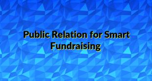Public Relation for Smart Fundraising