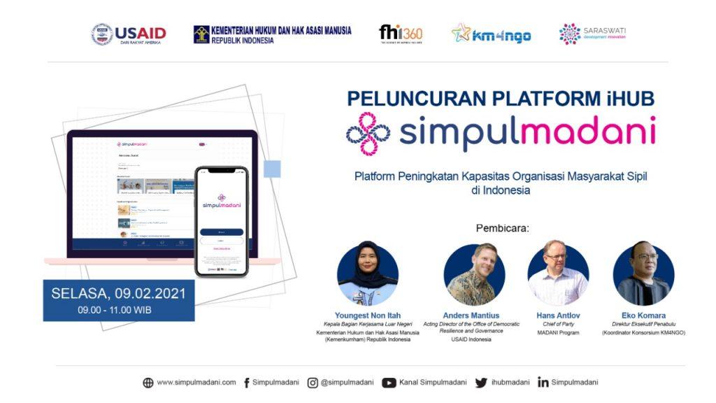 Peluncuran Platform Digital iHub SimpulMadani